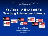 You Tube  - A New Tool For Teaching...