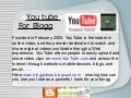 Youtube for Blogs
