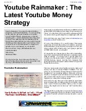 Youtube Rainmaker : The Latest Yout...