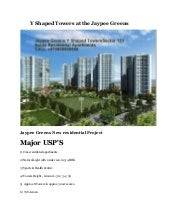 Y shaped towers at the jaypee greens