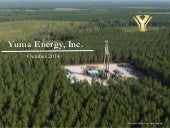 Yuma Energy Inc  - October 2014 Corporate Presentation