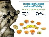 Fridge space allocation and brand v...
