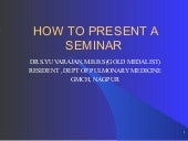 Yuva ppt how to presnt