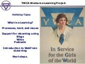 YWCA eLearning Workshop