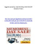 Zagg Memorial Day Sale 2013 May 2013 50% OFF Exclusive Promo