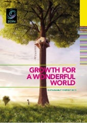 Zain Sustainability Report 2011