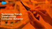 Technology Trends Changing Consumer Behavior