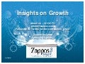 Zappos Insights 2009-07-14 Growth