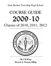 Zbths 2009 10 Course Guide