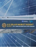 2012 Year in Review Solar Market Insight