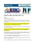 Zee  Biz  I E B C  Feb 24, 2009  India  Inc S  M& A Value Dips 53% In 4 Yrs