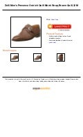 Zelli men's provence ostrich quill monk strap,brown quill,12 m