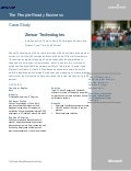 Microsoft India - Zensor Technologies Case Study