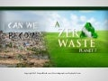 Can We Become A Zero Waste Planet? PDF Infographic
