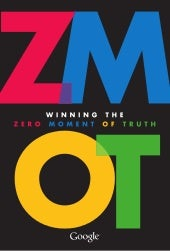 Zero moment of truth google ZMOT eBook