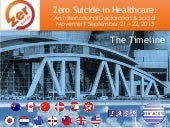 Zero Suicide in Healthcare: International Declaration & Social Movement (The Timeline)