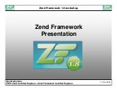 Zend Framework 1.8 workshop