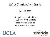 Zimride Ucla Sustainability Confere...