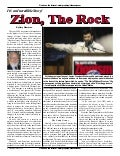 Zion: The Rock -  Prophecy In The News Magazine -  July 2006