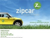 ZipCar Rental Service: a business model