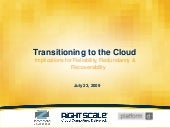 Transitioning to the Cloud: Implica...