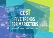 Five Trends for Marketers
