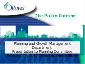 Zoning By-law: City of Ottawa Polic...