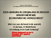 presentatie Zuid limburg in (on)bal...