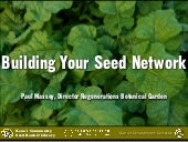 Building your Seed Network