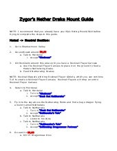 Zygor Nether Drake Mount Guide