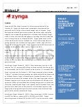 Zynga Strategic Insights Report And Valuation Primer - MidasLP.com
