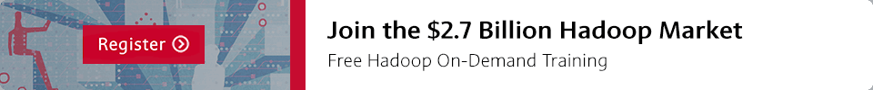 Join the $2.7 Billion Hadoop Market