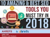 10 amazing and best seo tools 2018