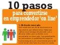 10 pasos para convertirse en emprendedor 'on line'