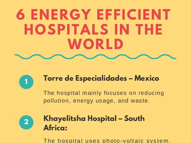Niagara region hospital efficient in water and energy ... |Energy Efficient Hospitals