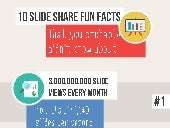 10 SlideShare Fun Facts (Infographics)