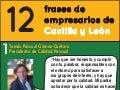 12 frases de  empresarios de Castilla y León