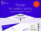 Design for policy - 100 people, 70 organizations, 50 countries
