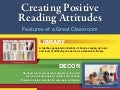 Creating Positive Reading Attitudes
