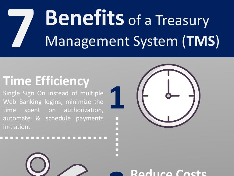 7 Benefits of a Treasury Management System (TMS)