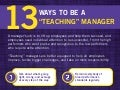 "13 Ways to be a ""Teaching"" Manager"