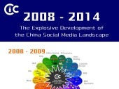 CIC Infographic: 2008 - 2014 the Explosive Development of the China Social Media Landscape