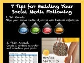 7 Tips for Building Your Social Media Following