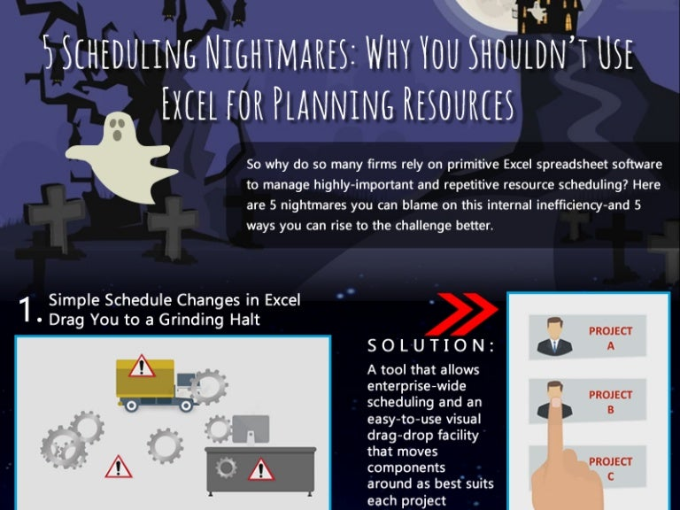 5 scheduling nightmares why you shouldn t use excel for planning res