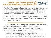 Licenze Open Access: perché non c'è più bisogno di discuterne? (infografica)