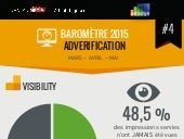 4ème baromètre de l'ad verification - Kantar Media Adledge Mars-Mai 2015