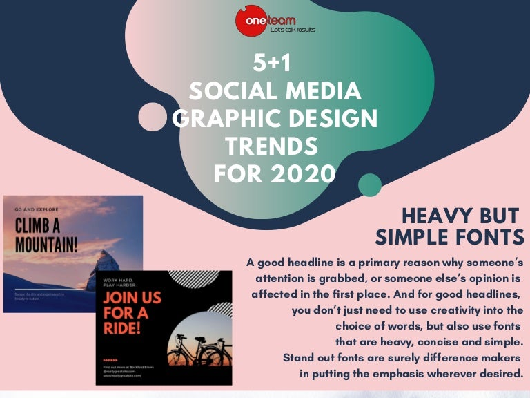 5 1 Social Media Graphic Design Trends You Need To Know For 2020