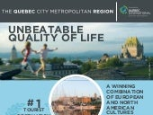 The Quebec City Metropolitan Region: an unbeatable quality of life