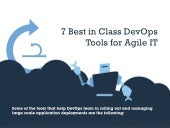 7 best DevOps tools for Agile IT