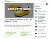 UBFEN Mens Womens Water Shoes - water shoes for men - aqua shoes - barefoot water shoes